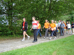 Nordic Walking im Stadtpark